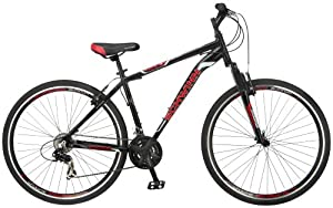 Schwinn Men's GTX-1 700C Dual Sport Bicycle, Black, 18-Inch