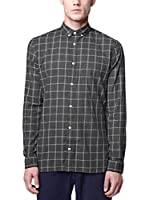 Nowadays Camisa Hombre (Gris Oscuro)