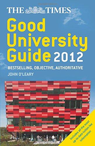 The Times Good University Guide 2012 PDF