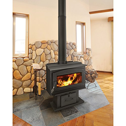 WoodPro Wood Stove - 90,000 BTU, EPA-Certified, Model# WS-TS-2000