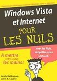 echange, troc John Levine, Andy Rathbone - Windows Vista et Internet pour les Nuls
