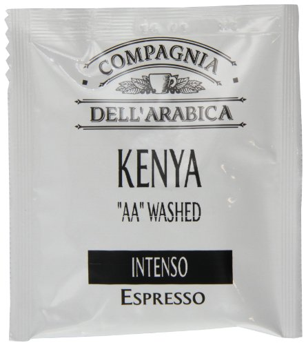 Compagnia Dell'arabica Kenya AA Washed ESE Pods 7 g (Pack of 18)