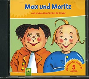 max und moritz und andere geschichten f r kinder 1 audio cd music. Black Bedroom Furniture Sets. Home Design Ideas
