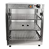 Commercial Food Pizza Pastry Warmer Countertop 20x20x24 Display Case