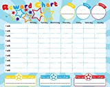 Magnetic Reward/Star Chart for Motivating Children, Durable Board 40 x 30cm