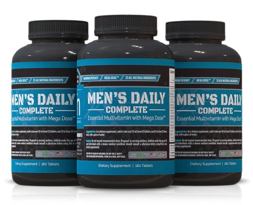 Trusted Nutrients Men'S Complete Multivitamin - 3X 180 Tablets