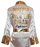 Roberto Duran Signed White Robe