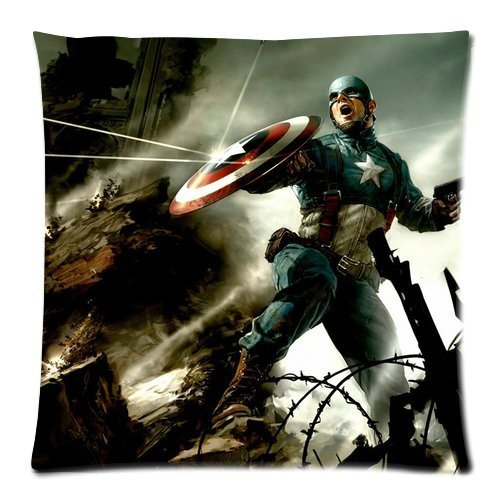 Captain America Bedding Twin back-1009849