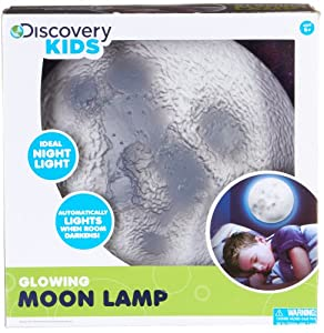 Discovery Kids Glowing Moon Lamp by Discovery Kids