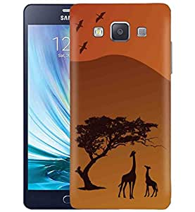 Kapa Designer Printed Protective Back Case Cover for Samsung Galaxy A5 A500 [ NOT FOR A510 ] (NA02)