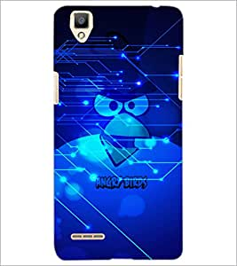 PrintDhaba Cartoon D-2845 Back Case Cover for OPPO F1 (Multi-Coloured)