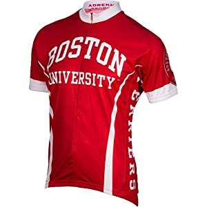 Boston University Terriers NCAA Road Cycling Jersey by Adrenaline Promotions