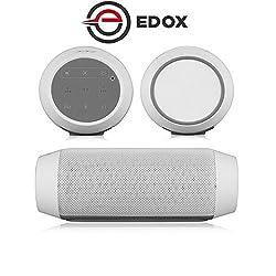 Edox ED-048 Bluetooth Speaker Portable Steoro Mic FM Radio USB TF card AUX MP3 Player