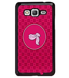 PRINTVISA Abstract Pink Pattern Case Cover for Samsung Galaxy Grand Prime