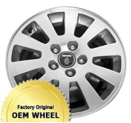 SAAB 5-Sep 16X6.5 10 SPOKE Factory Oem Wheel Rim- SILVER – Remanufactured