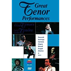 Great Tenor Performances - DVD