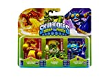 Figurine Skylanders : Swap Force - Slobber Tooth + Lava Barf Eruptor + Super Gulp Pop Fizz