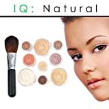 51KuUkHQsvL. SL160 IQ Natural Large Pure Minerals Makeup Starter Set with Brush Medium Shade Under 30.00!