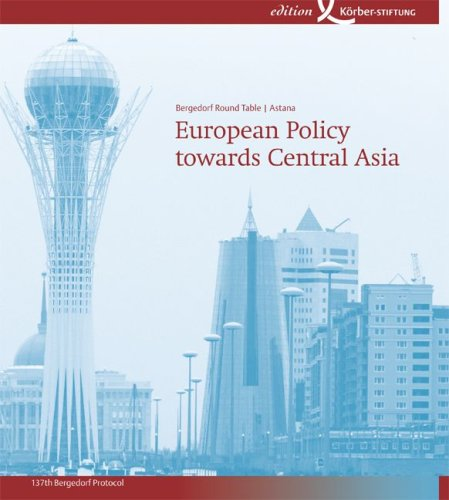 European Policy towards Central Asia