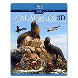 GALAPAGOS 3D - Charles Darwin's Big Adventure (Blu-ray 3D & 2D Version) REGION FREE