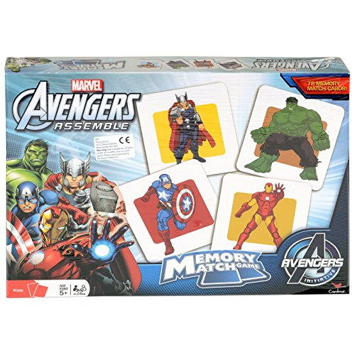 Marvel Avengers Memory Match Game with Thor, Iron Man, Capt America, Hulk - 1