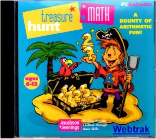 Treasure Hunt Math - Building Brighter Children Through Basic Skills Windows 95/98 - 1