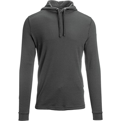 Mens Under Armour Amplify Thermal Hoody, Carbon Heather, X-Large