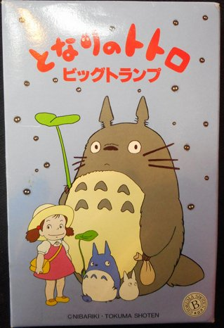 Totoro Oversized Playing Cards