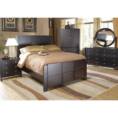 queen bedroom chaplin
