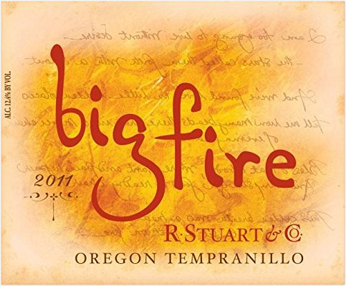 2011 R. Stuart & Co. Big Fire Tempranillo 750 Ml