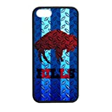 Artsalong NFL Buffalo Bills Team Logo Design Rubber Nice Durable Case Cover for Apple iPhone 5,5S TPU (Laser Technology) at Amazon.com