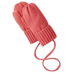 Hanna Andersson Baby Baby Mouse Mittens, Size XXS (8 Months), Imagine Pink