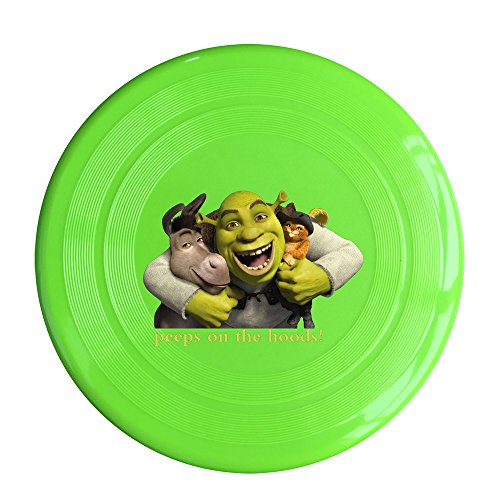 SAXON13CAP Funny Sherk And Little Donkey 150g KellyGreen Toys Flying Disc