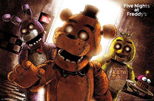 Five Nights Freddy Art