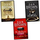 Dan Brown Dan Brown 3 Books Collection Pack Set RRP: £23.97 (The Lost Symbol, The Da Vinci Code, Angels and Demons)