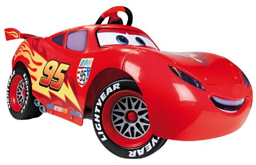 CARS Lightning McQueen electric, 6V from 2 years, L 106 x W 56 x H 52 cm (800 007 110)