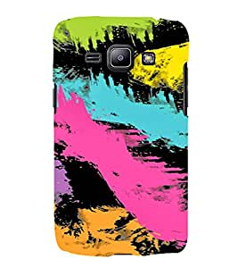 PrintVisa Painting Art Pattern 3D Hard Polycarbonate Designer Back Case Cover for Samsung Galaxy J1 (2016 Edition)