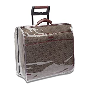 "Buy clear garment bags - Hartmann 50"" Mobile Traveler Garment Bag Plastic Cover Clear"