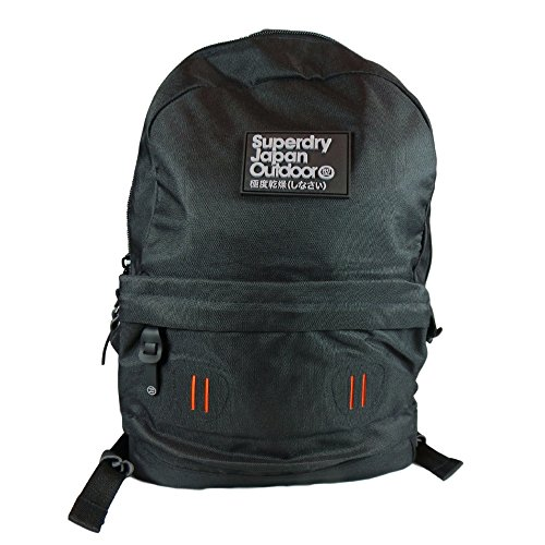 Superdry Real Montana Zaino Casual, 40 cm, Black (02A)
