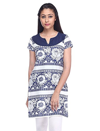 Pink Almirah Women White Kurta available at Amazon for Rs.219
