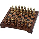 Unique Medieval Chess Set With Game Board