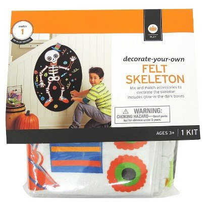Decorate-your-own Felt Skeleton - 1