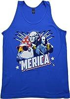 MERICA | Epic USA Patriotic American Party Unisex 'Merica Tank Top