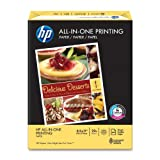 HP All-in-One Printing Paper, 96 Brightness, 22 lb, Letter Size (8.5 x 11), 500 Sheets/Ream (20701-0)