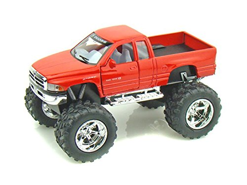 Dodge Ram Off Road Truck 1/44 Red