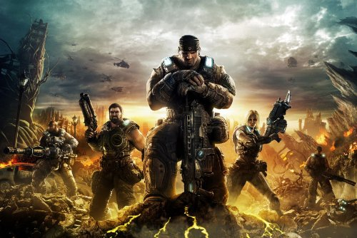 Gears Of War 3Riproduzione Gioco poster no.940,6x 30,5cm