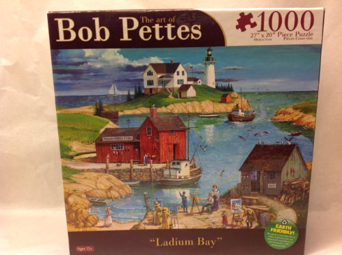 "The Art of Bob Pettes: ""Ladium Bay"" 1000 Piece Puzzle"
