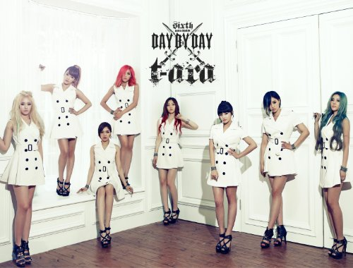 T-ara 6th Mini Album - DAY BY DAY (韓国盤)