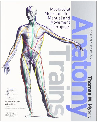 Anatomy Trains: Myofascial Meridians for Manual and Movement Therapists 2nd Edition