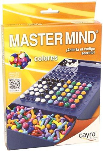 Cayro - Colori Mastermind, viaggio gioco (7 anni) (125) [importato dalla Spagna]